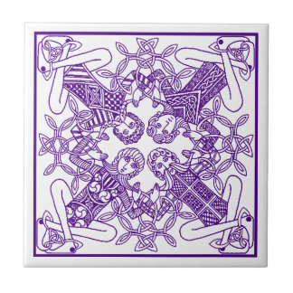 Tile Trivet Celtic Knot intertwined lives friends