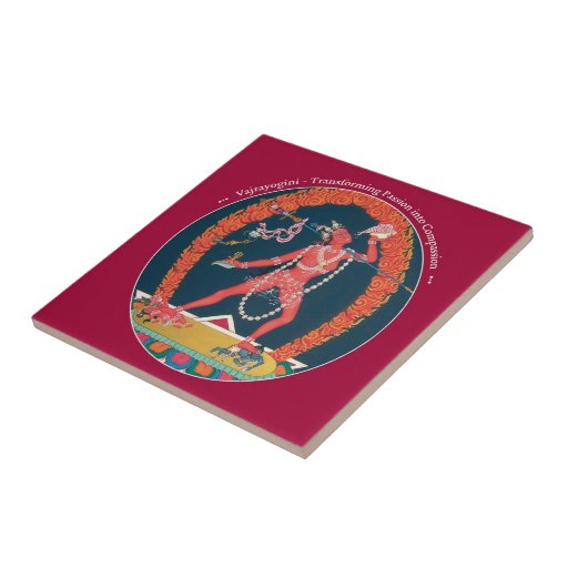 Tile - Vajrayogini - from Passion to Compassion