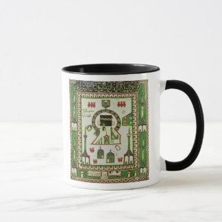 Tile with a representation of Mecca Mug