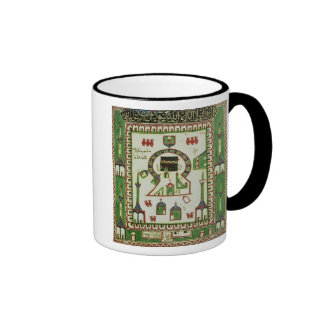 Tile with a representation of Mecca Ringer Coffee Mug