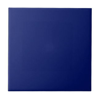Tile with Navy Blue Background