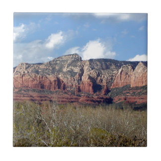 tile with photo of Arizona Redrock