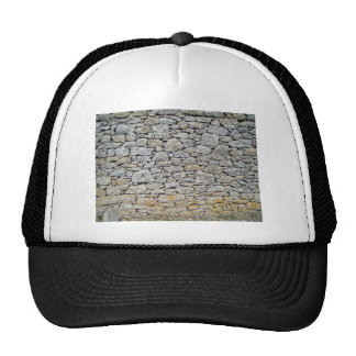 Tileable stone wall background texture, abstract p mesh hats