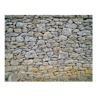 Tileable stone wall background texture, abstract p postcard