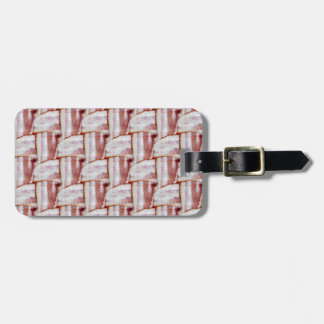 Tiled Bacon Weave Pattern Bag Tag