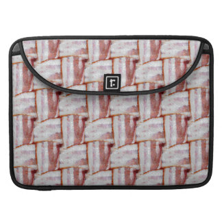 Tiled Bacon Weave Pattern Sleeve For MacBook Pro