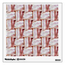 Tiled Bacon Weave Pattern Wall Decal