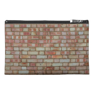 Tiled Brick Wall Urban Texture Pattern Travel Accessories Bag