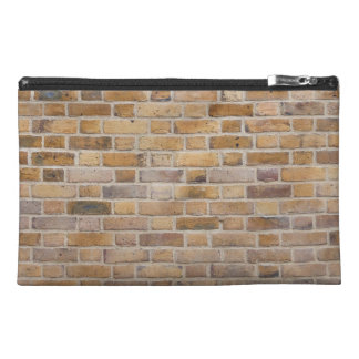 Tiled Brick Wall Urban Texture Pattern Travel Accessories Bags