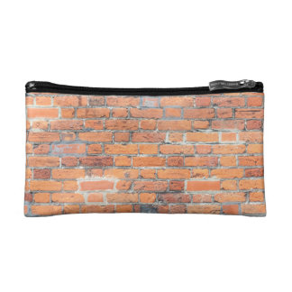 Tiled Brick Wall Urban Texture Pattern Cosmetic Bag