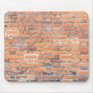 Tiled Brick Wall Urban Texture Pattern Mouse Pad