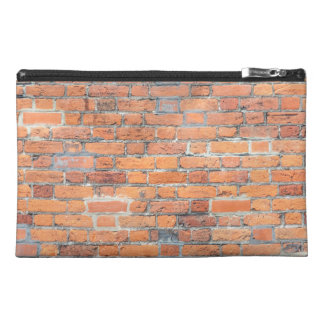 Tiled Brick Wall Urban Texture Pattern Travel Accessory Bag