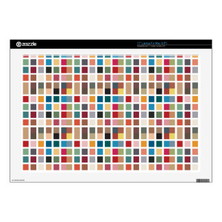 Tiled Chic Hipster Laptop Skin