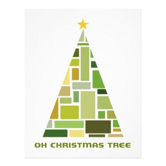 Tiled Christmas Tree Full Color Flyer
