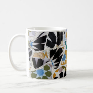 Tiled coffee cup