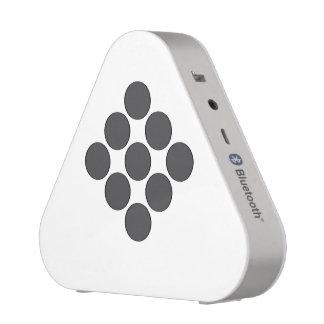 Tiled DarkGrey Dots Bluetooth Speaker