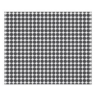 Tiled DarkGrey Dots Photo Art