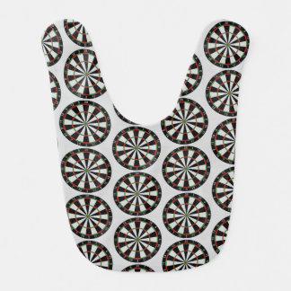 Tiled Darts Target Pattern Bib