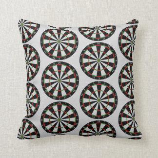 Tiled Darts Target Pattern Pillow
