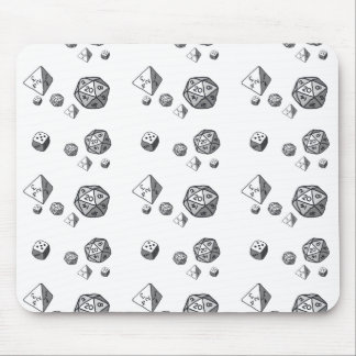 Tiled Dice Mouse Pad