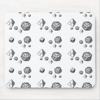Tiled Dice Mousepads