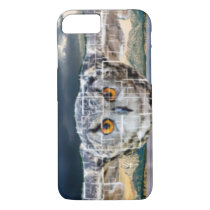 Tiled effect owl in flight Iphone 8/7 case
