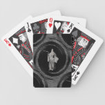 tiled grim reaper bicycle playing cards