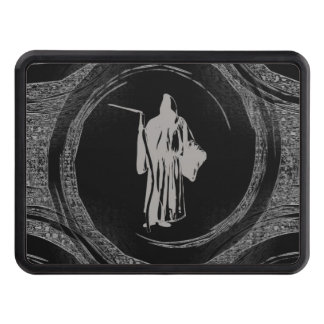 Tiled Grim Reaper Tow Hitch Cover