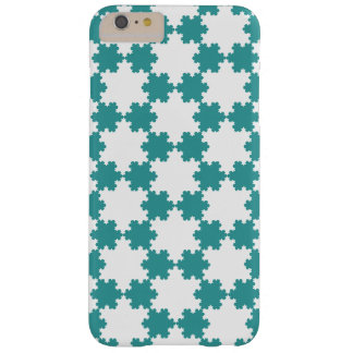 Tiled Koch Snowflakes Barely There iPhone 6 Plus Case