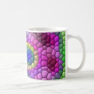 Tiled Neon 1 Mugs