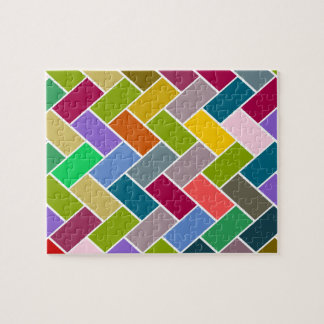 Tiled Pattern Colourful Mosaic Puzzle