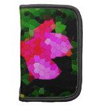 Tiled Pink Azalea Flowers Planner