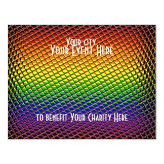 Tiled Rainbow Card