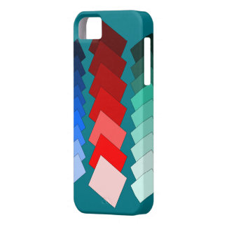 tiled rectangles iPhone SE/5/5s case