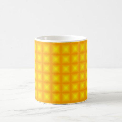 Tiled Tile Reflective Pattern Design Coffee Mug