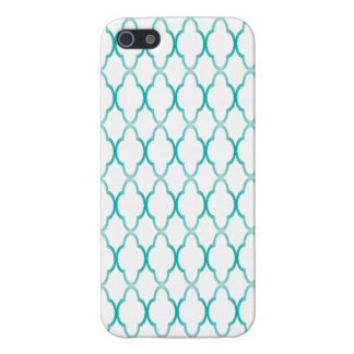 Tiled Turquoise design Iphone case