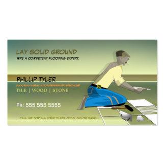 Tiler/Flooring Specialist/Company Business Card