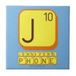J JENNIFER'S PHONE  Tiles