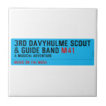 3rd Davyhulme Scout & Guide Band  Tiles