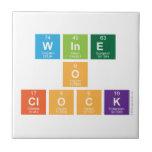 Wine o clock  Tiles