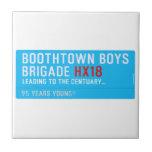 boothtown boys  brigade  Tiles