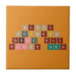 Happy  Periodic  Table Day Fellow Nerds  Tiles