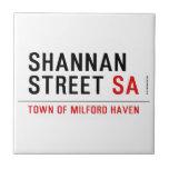 Shannan Street  Tiles