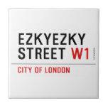 ezkyezky Street  Tiles