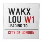 WAKX LOU  Tiles