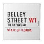 Belley Street  Tiles