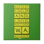 keep calm and love Retha wa Bongz  Tiles