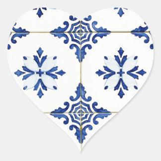 Tiles Heart Sticker