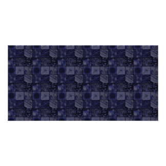 Tiles in Blue Card