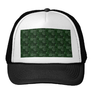 Tiles in Green Trucker Hats